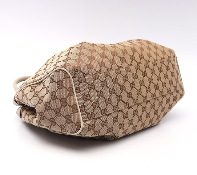 Imagem do Bolsa Gucci Sukey Media Beige/White