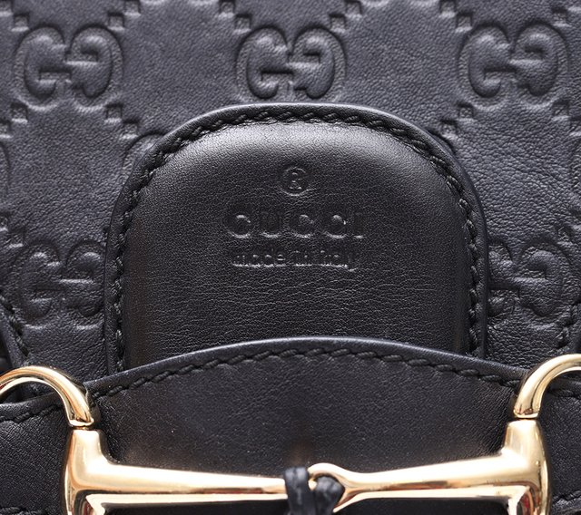 Bolsa Emily Guccissima Chain Large Shoulder