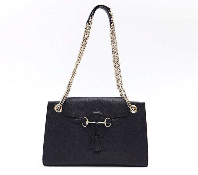 Bolsa Emily Guccissima Chain Large Shoulder - loja online