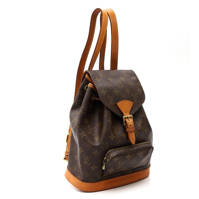 Mochila Louis Vuitton Montsouris MM Monograma - Paris Brechó - Artigos de Luxo Seminovos
