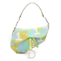 Bolsa Christian Dior Canvas Saddle Multicolor Limited Edition - comprar online
