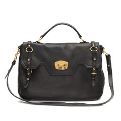 Bolsa Miu Miu Cervo Leather East/West Satchel