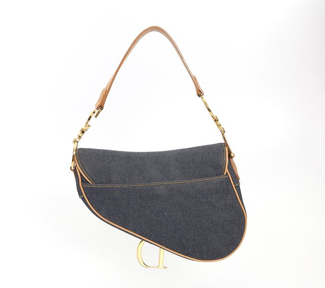 Bolsa Christian Dior Denim Saddle - loja online