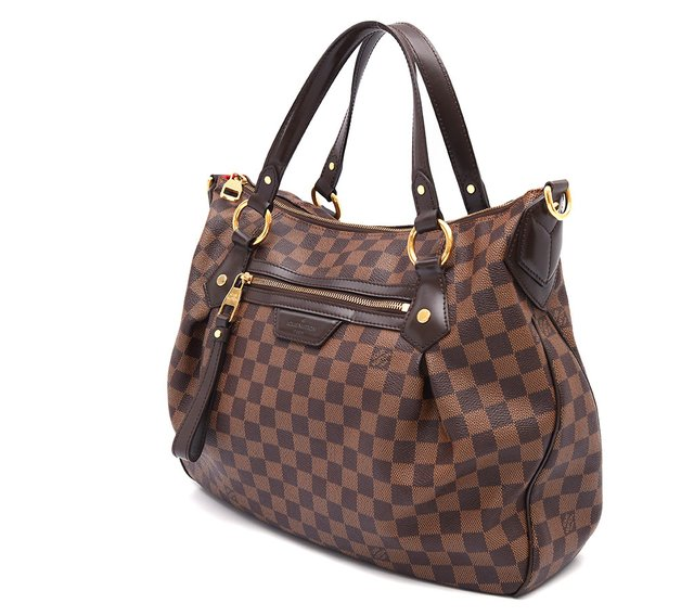 Bolsa Louis Vuitton Damier Canvas Evora MM - Paris Brechó - Artigos de Luxo Seminovos