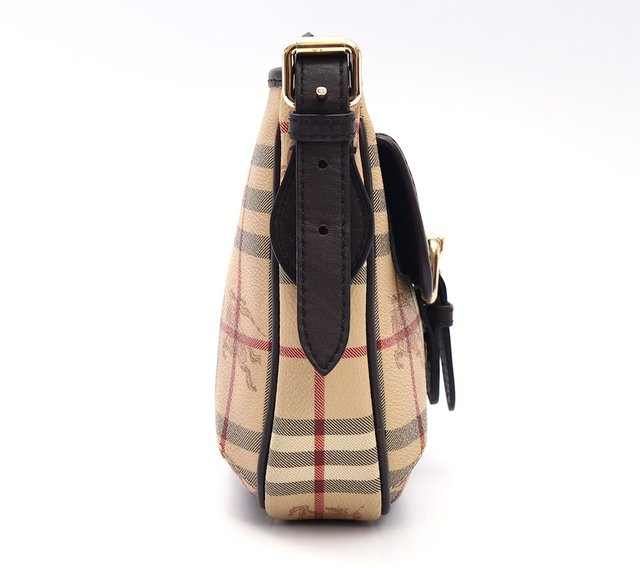 Imagem do Bolsa Burberry Haymarket Check Coated Canvas Crossbody