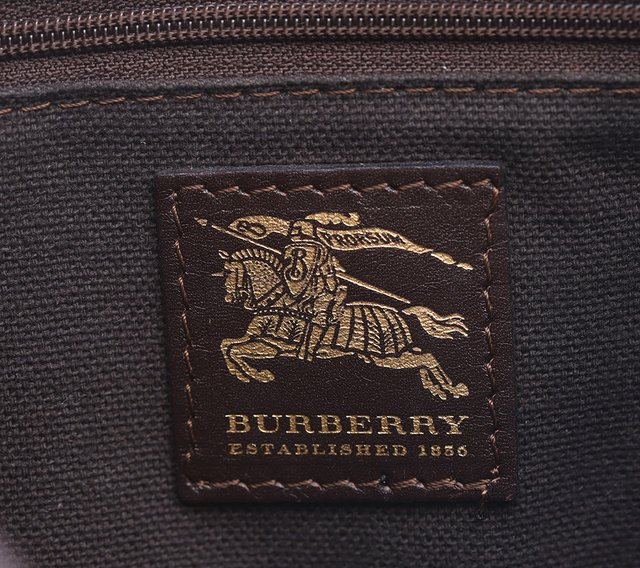 Bolsa Burberry Haymarket Check Coated Canvas Crossbody - loja online