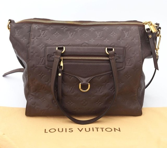 Bolsa Louis Vuitton Lumineuse PM Terre Monograma na internet