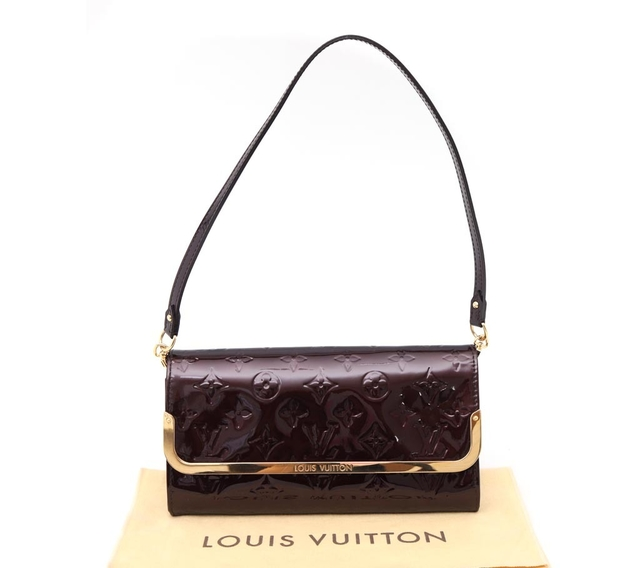 Imagem do Bolsa Clutch Original Louis Vuitton Rossmore Verniz