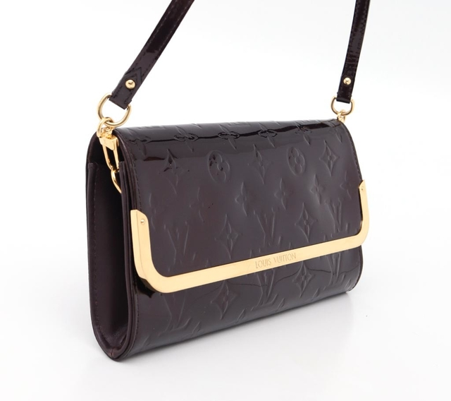 Bolsa Clutch Original Louis Vuitton Rossmore Verniz na internet