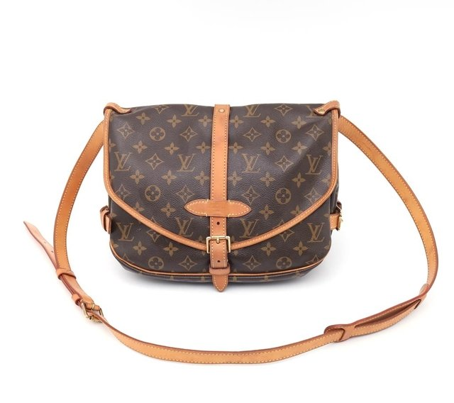 Bolsa Louis Vuitton Monograma Canvas Saumur MM - comprar online