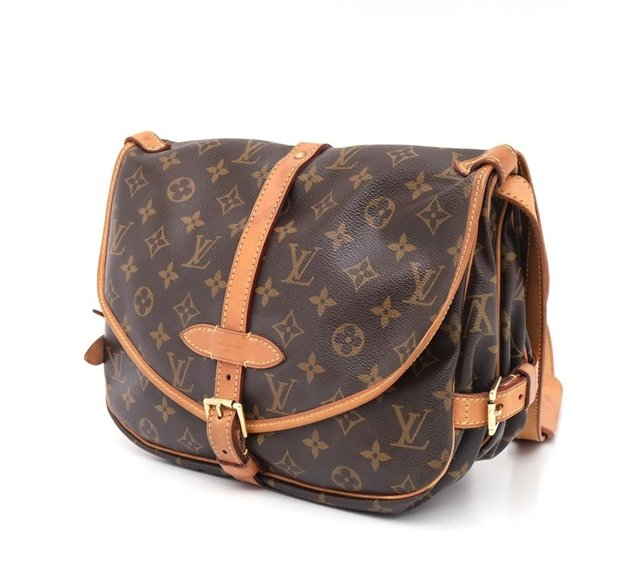 Bolsa Louis Vuitton Monograma Canvas Saumur MM - loja online