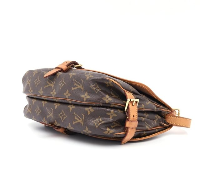 Bolsa Louis Vuitton Monograma Canvas Saumur MM na internet