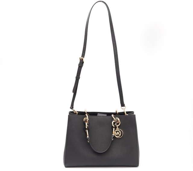 Bolsa Michael Kors Shopping Tote Jet Set Preta na internet