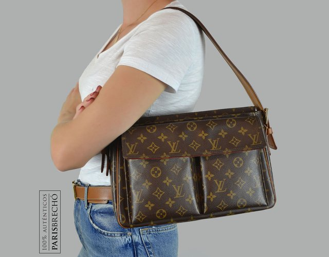 Bolsa Louis Vuitton Monogram Canvas Viva Cite GM - comprar online