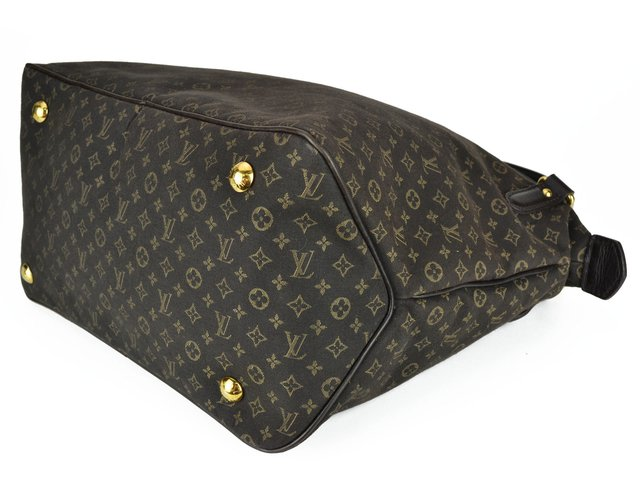 Bolsa Louis Vuitton Fusain Monogram Idylle Canvas Ballade PM