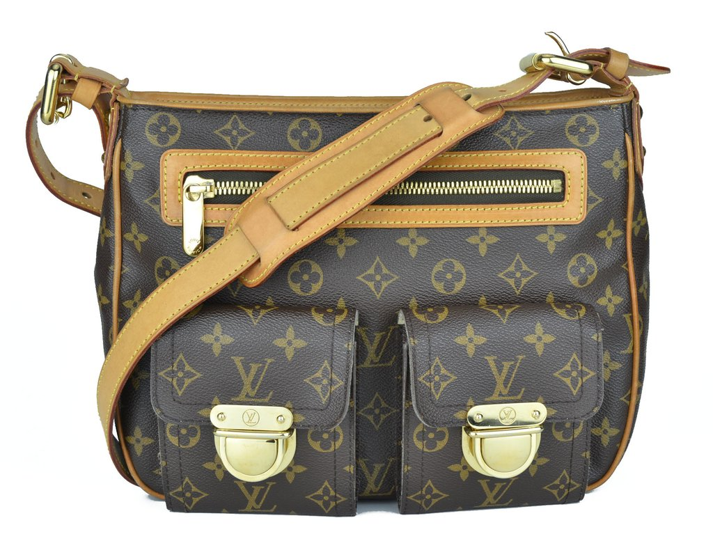 dd0f556fd Bolsa Louis Vuitton Monogram Canvas Hudson GM