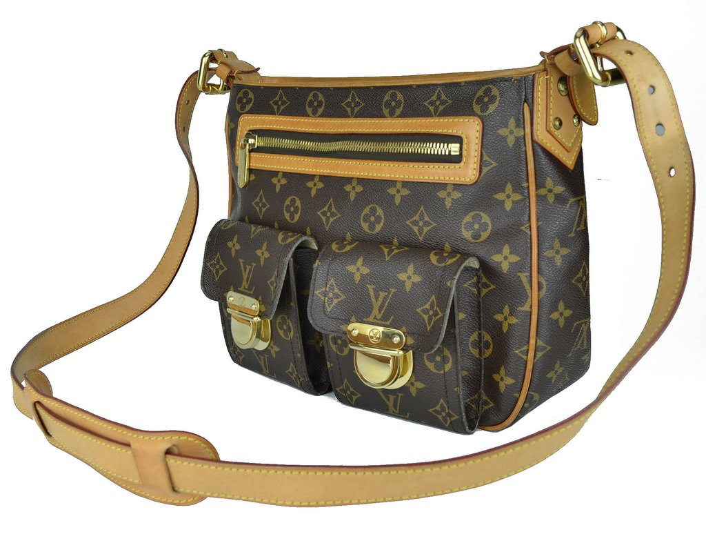 c6879def5 ... comprar online; Bolsa Louis Vuitton Monogram Canvas Hudson GM na  internet ...