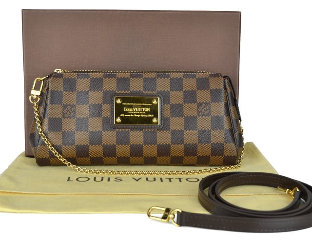 Clutch Louis Vuitton Eva Damier - loja online