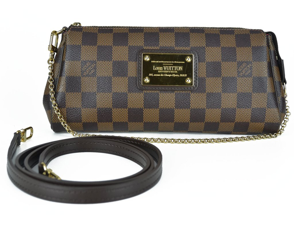 68146769e3b Clutch Louis Vuitton Eva Damier
