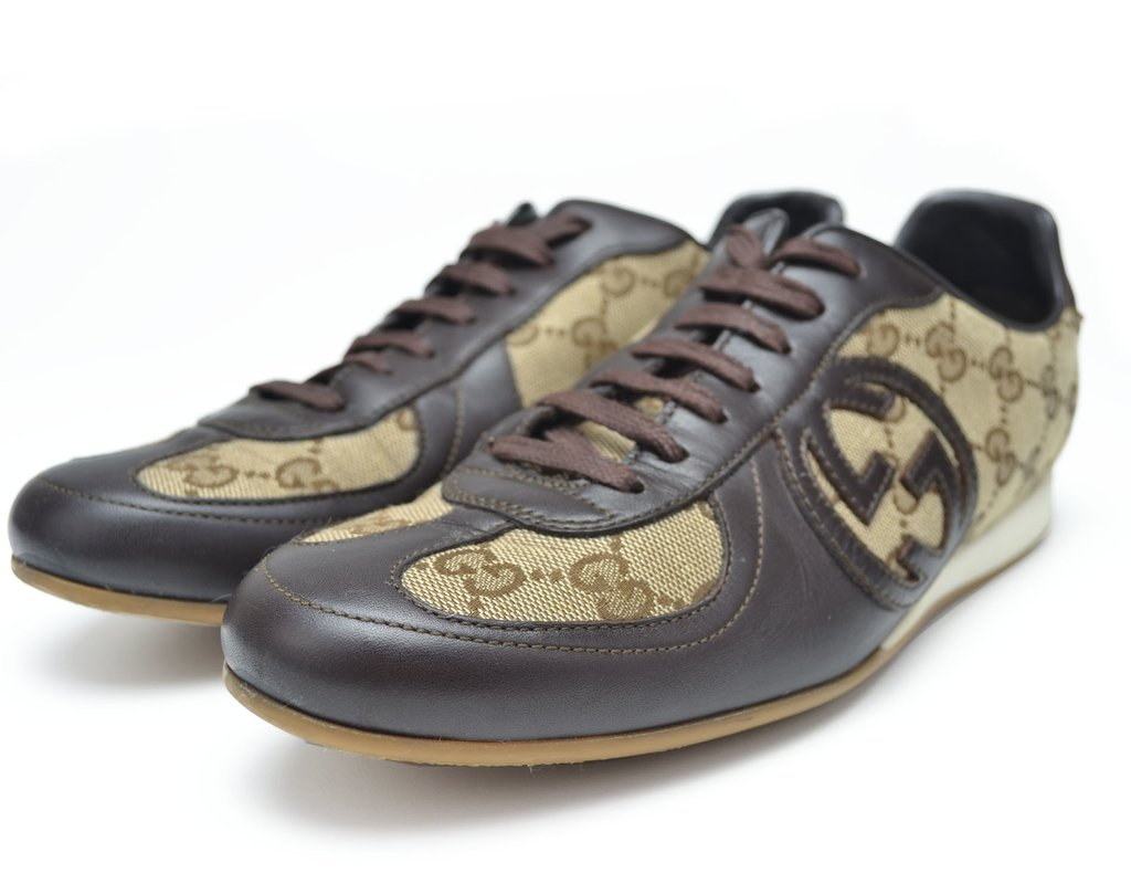 77cd37f4654b8 ... Tênis Gucci GG Guccissima - TAM 38 Brasil - comprar online ...