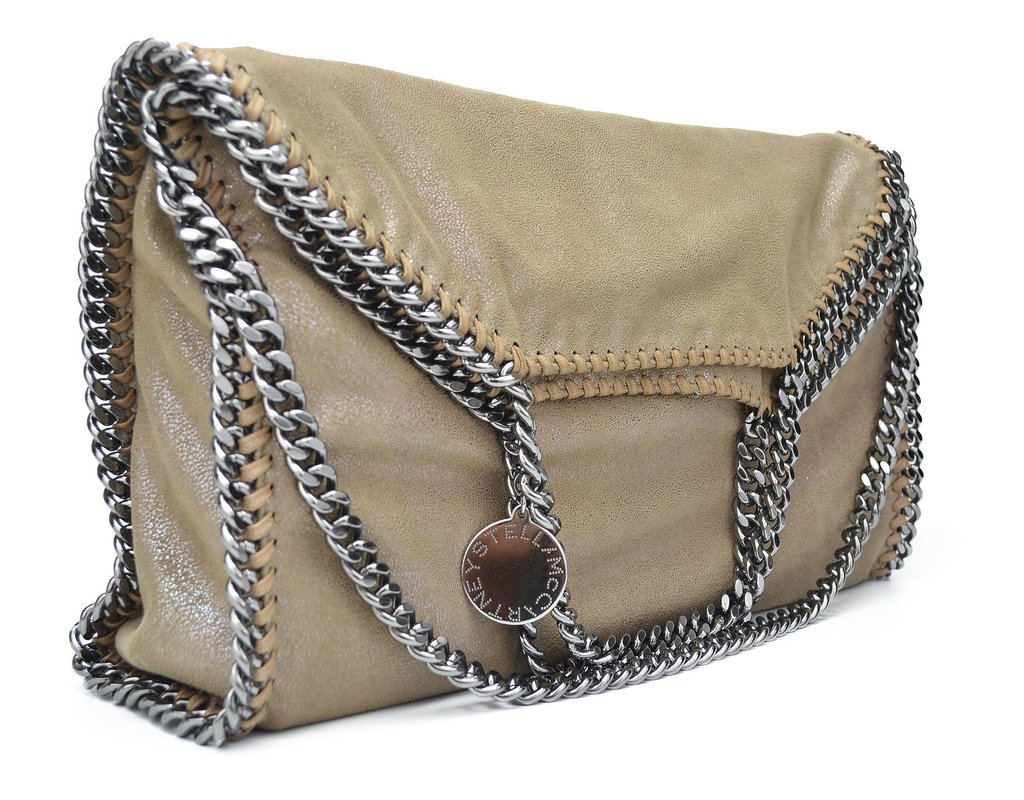 ... Bolsa Stella McCartney Falabella Bege - loja online ... 6cda38be1d
