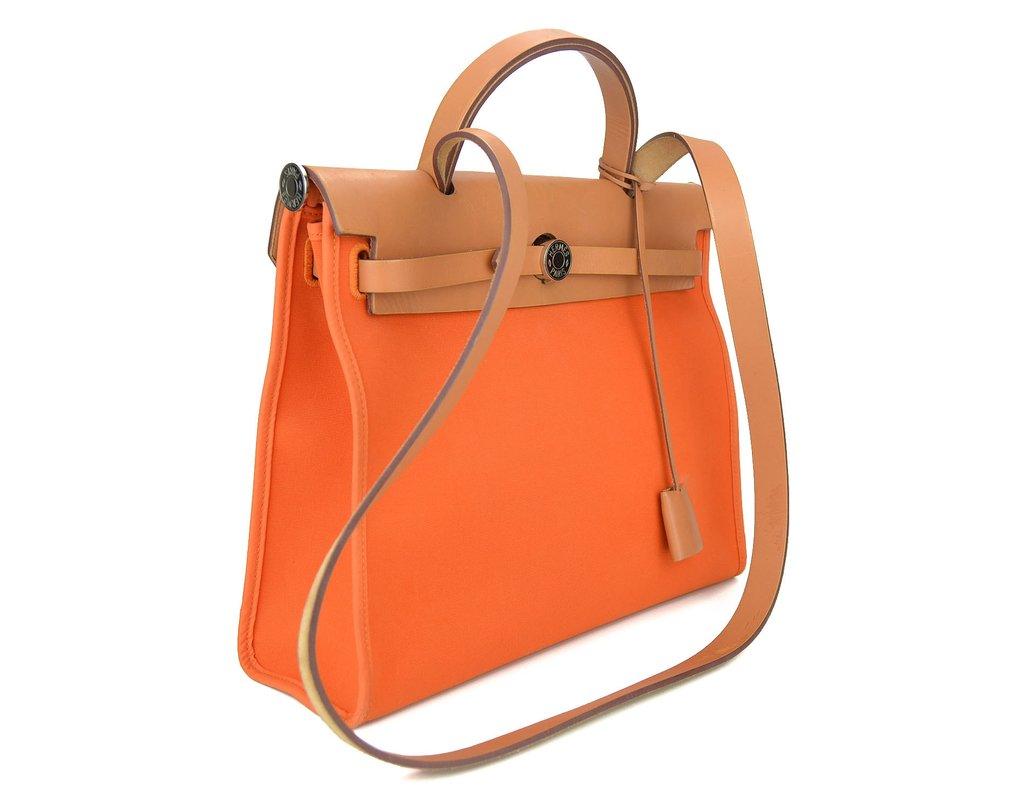 dc3217a41c1 ... Bolsa Hermès Toile Herbag Zip 31 - comprar online ...