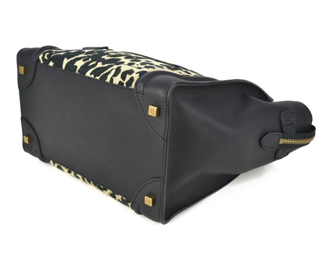 Céline Mini Luggage Tote Animal Print na internet