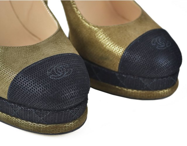 Sapato Chanel Cap Toe Pumps - EUR 37 na internet