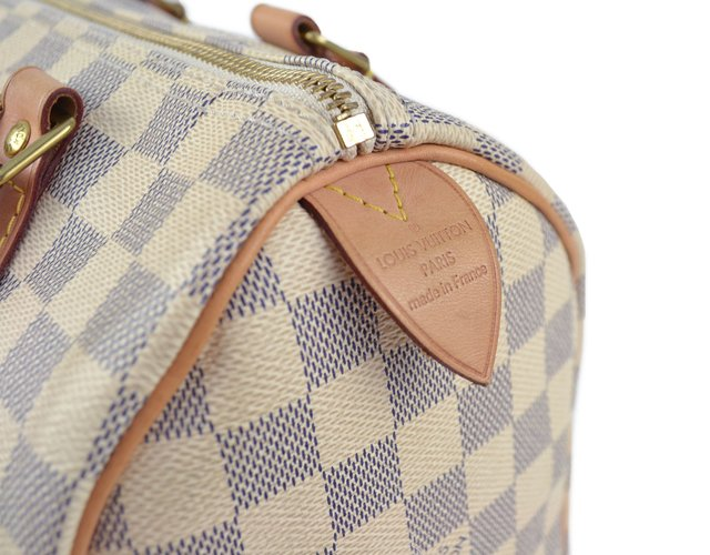 Bolsa Louis Vuitton Speedy 25 Damier Azur