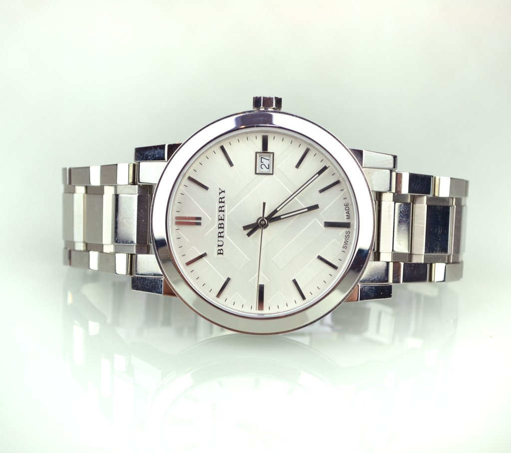 e01750c0f47 ... Relógio Burberry Prata 22858 - loja online ...