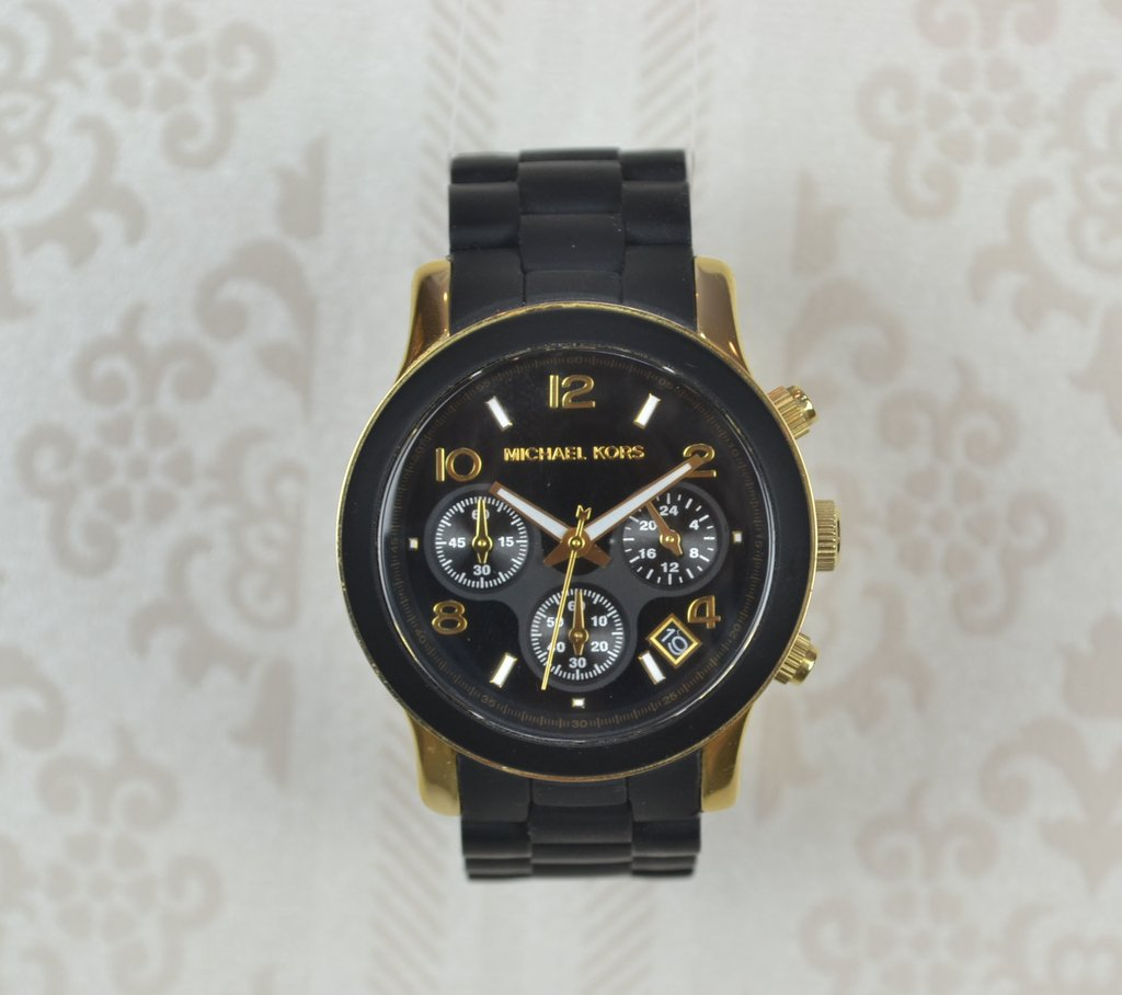 ffe539306bfd2 Relógio Michael Kors Preto MK5191