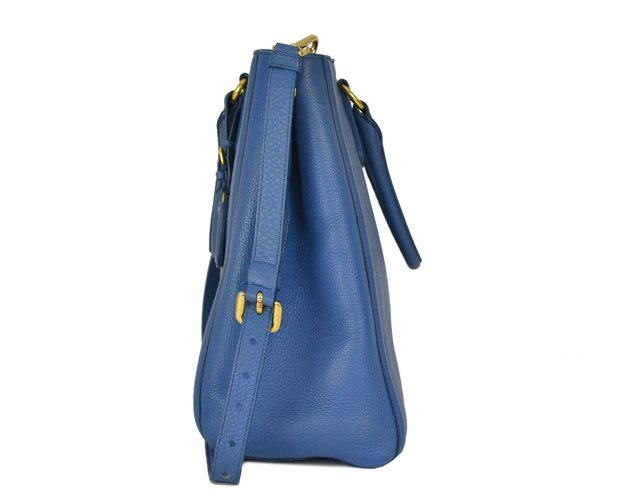 Bolsa Prada Vitello Daino Top Handle Tote