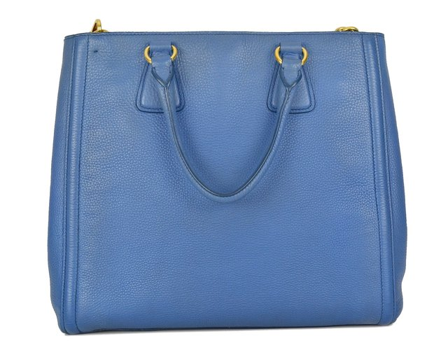 Bolsa Prada Vitello Daino Top Handle Tote na internet