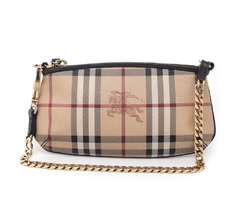 Bolsa Clutch Burberry Haymarket Check