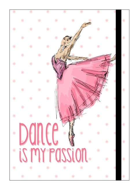 Cuaderno A5 - DANCE PASSION