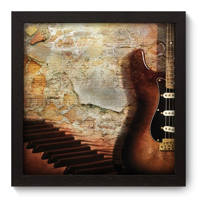 Quadro Decorativo - Guitarra - 001qdgp