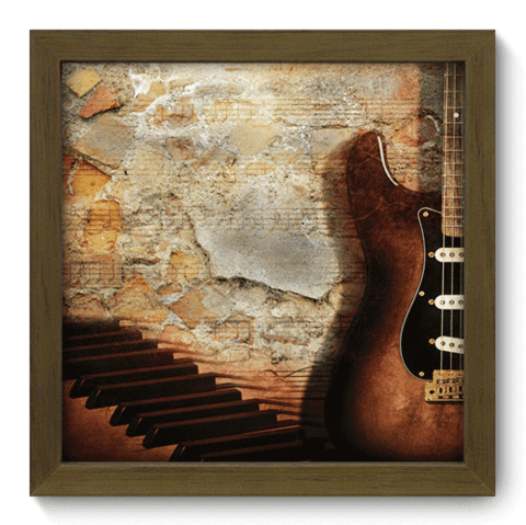 Quadro Decorativo - Guitarra - 001qdgm