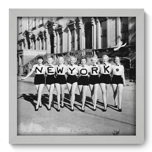 Quadro Decorativo - New York - 005qdvb
