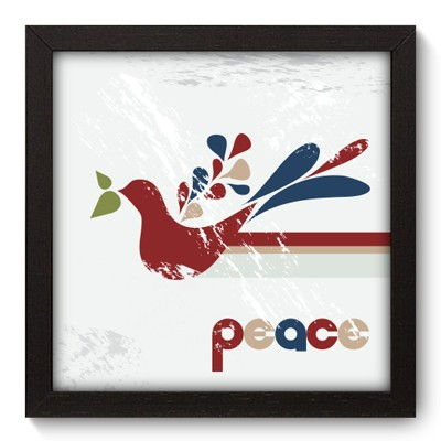 Quadro Decorativo - Peace - 007qddp