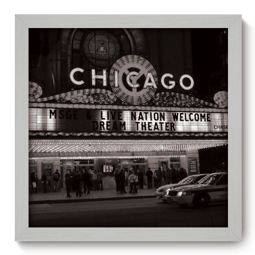 Quadro Decorativo - Chicago - 007qdhb