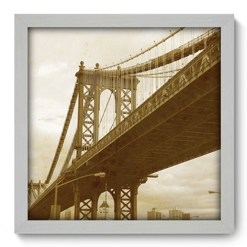 Quadro Decorativo - Brooklyn Bridge - 007qdvb
