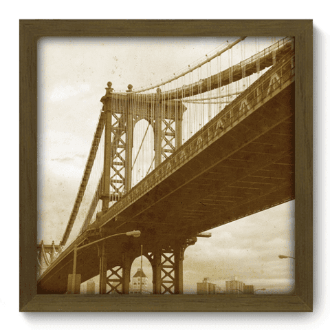 Quadro Decorativo - Brooklyn Bridge - 007qdvm