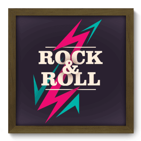 Quadro Decorativo - Rock - 008qdgm
