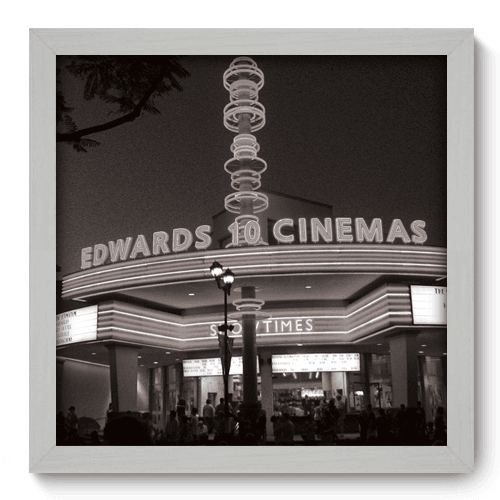 Quadro Decorativo - Cinemas - 008qdhb