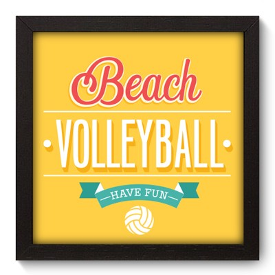 Quadro Decorativo - Volleyball - 010qdep