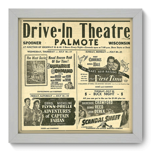 Quadro Decorativo - Theatre - 010qdhb