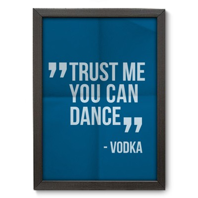 Poster Decorativo - Vodka - 011pst