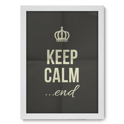 Poster Decorativo - End - 015pst