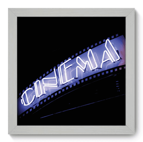 Quadro Decorativo - Cinema - 015qdhb