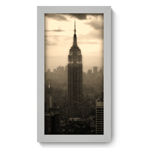 Quadro Decorativo - Empire State - 016qdmb